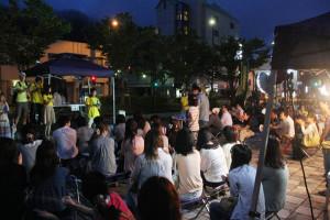 青年会議所青年部が第2回綾コンを開催し、盛況で満足度も高い結果となった
