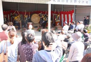 住民組織「水源の里・光野」が14日、発足式を兼ねた交流会を同町の公民館で開いた。