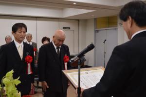 平成25年度市永井授賞式が10日に市役所で行われ、永井奨励賞を受賞した「コ宝ネット」に表彰状と賞金が贈られた。