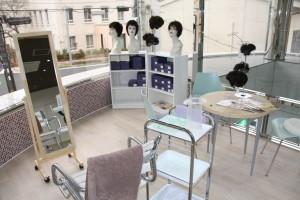女性用ウイッグの専門店をみつまる美容室が西新町にオープンさせた。