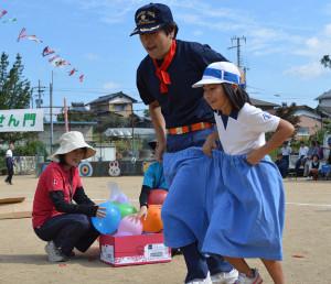 東八田体育祭