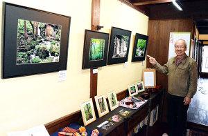 本町3丁目の喫茶・まるみで29日まで、株正博さん(67)=新庄町=の写真展「みちのく のんびり旅」が催されている。