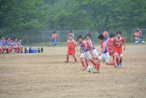 JA京都にのくに(仲道俊博組合長)主催の第9回少年サッカー大会(京都サッカースポーツ少年団連盟中丹支部主管)が4日、上杉町の市総合運動公園グラウンドで開かれ、舞鶴少年サッカークラブが優勝した。