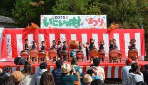 「いこいの村まつり」が25日に開かれ、会場となった十倉名畑町のいこいの村聴覚言語障害センターは多くの来場者でにぎわった。
