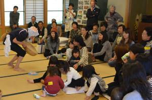 弥仙会館で交流会