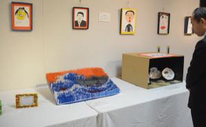 中丹支援学校の作品展