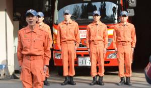 熊本へ消防職員
