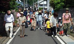 志賀郷公民館「歩こう会」