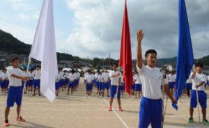 今年の綾高祭が、岡町の綾部高校(福井真介校長)の四尾山キャンパス(本校)で文化祭は6、7の両日、当初8日に予定していた体育祭は雨天のため順延されて9日に開催。いずれも若いエネルギーを十分に発揮した。