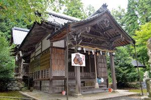 石田神社 10月2日に記念行事