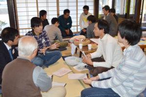 京都産業大学法学部の中谷真憲教授のゼミで「公共政策(まちづくり)」について学んでいる学生らが2日、来綾。1泊2日の日程で市内でフィールドワークに取り組み、綾部の魅力をPRする短編動画を製作するなどした。