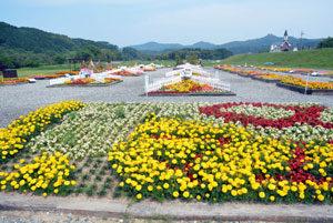 あやべ由良川花壇展