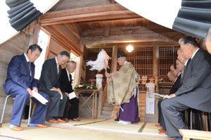 愛宕神社で例祭