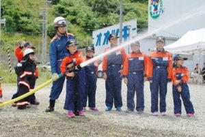 市少年少女消防クラブ