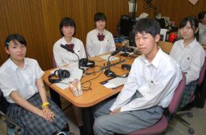 FMいかるで9月2日午前10時からの30分間、綾部高校放送部が制作する番組「綾高生日記」が放送される。現役部員による放送は2年半ぶり。今回は試験的な放送だが、これをきっかけに部員たちはレギュラー番組としての復活を目指している。