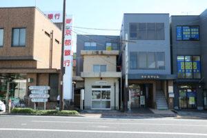 綾部駅前交番の移転を要望