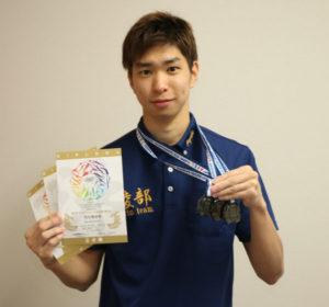 青野町のあやべ健康プラザで水泳コーチを務める西田実紗季さん(24)が、11~16日に名古屋市内で開かれた第1回アジアマスターズ水泳選手権大会(兼ジャパンマスターズ2018)に出場し、18~24歳区分の出場3種目で入賞した。