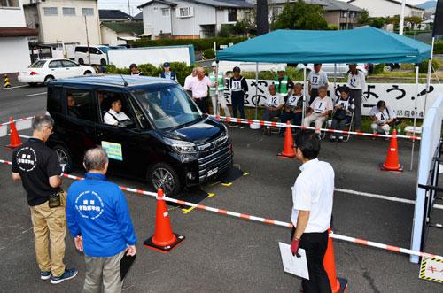 綾部自動車学校で安全運転教室