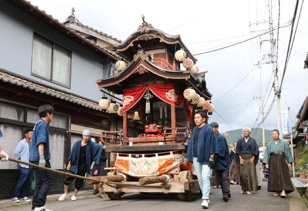 下市諏訪神社
